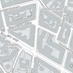 frogner kirke kart Kart, veibeskrivelse og kjørerute   map/maps   1881 frogner kirke kart