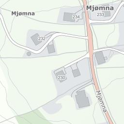 mjømna kart Mjømna 220, 5978 Mjømna på 1881 kart mjømna kart