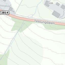 tessungdalen kart Tessungdalen 926, 3650 Tinn Austbygd på 1881 kart tessungdalen kart