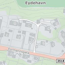 eydehavn kart Nils Hjelmtveits vei 12, 4810 Eydehavn på 1881 kart eydehavn kart
