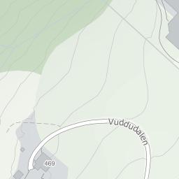 vuddudalen kart Vuddudalen 469, 7630 Åsen på 1881 kart